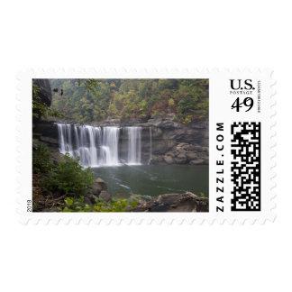 USA - Kentucky. Cumberland Falls on the Postage