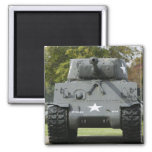 USA, Kentucky, Fort Knox: Patton Museum of 2 Inch Square Magnet
