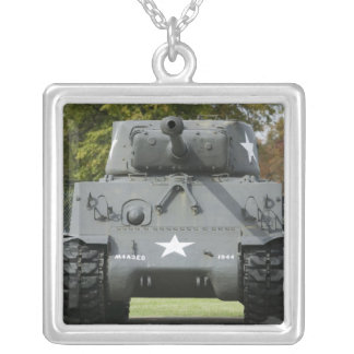 USA, Kentucky, Fort Knox: Patton Museum of Silver Plated Necklace