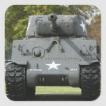 USA, Kentucky, Fort Knox: Patton Museum of Square Sticker