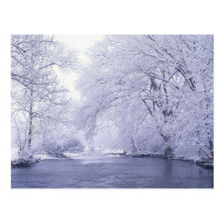 USA, Kentucky, Louisville. Snow covered Post Cards
