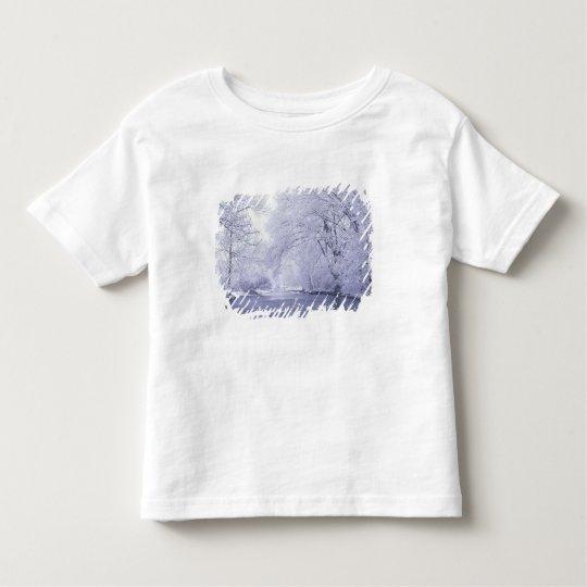 USA, Kentucky, Louisville. Snow covered Toddler T-shirt