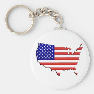 USA Keychain