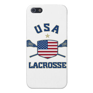 USA Lacrosse iPhone cover