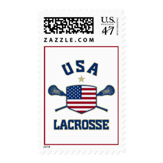 USA Lacrosse postage stamps