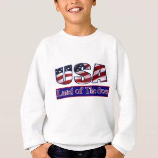 USA - LAND OF THE FREE SWEATSHIRT
