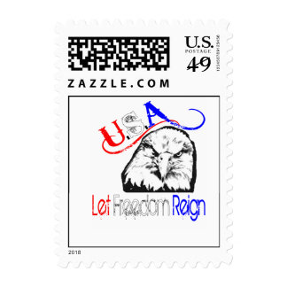 USA: Let Freedom Reign Stamps
