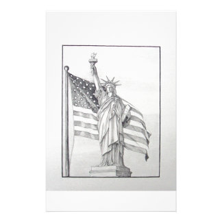 USA Liberty Stationery