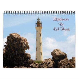 USA Lighthouses wall calendar by DJ Florek