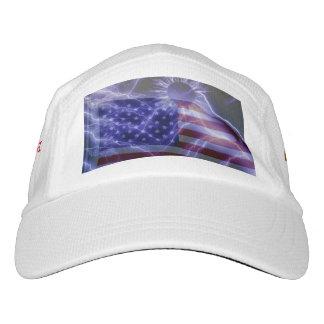 USA Lightning Bolts Hat