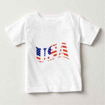 USA Themed USA logo Baby T-Shirt