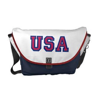 USA Logo Bag Courier Bags