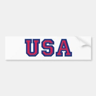 USA Logo Items Car Bumper Sticker