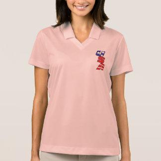USA Logo Women's Nike Dri-FIT Pink Polo Shirt