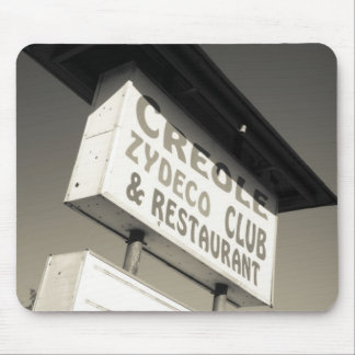 USA, Louisiana, Henderson. Creole Zydeco Music Mouse Pad