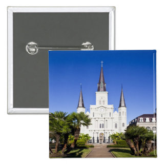 USA, Louisiana, New Orleans. French Quarter, 2 Inch Square Button