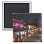 USA, Louisiana, New Orleans. French Quarter, 2 Inch Square Magnet