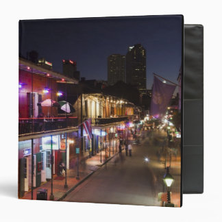 USA, Louisiana, New Orleans. French Quarter, Binder