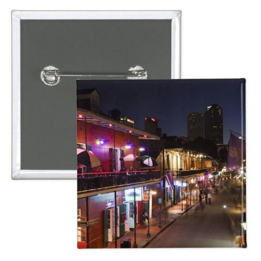 USA, Louisiana, New Orleans. French Quarter, Pinback Button