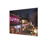 USA, Louisiana, New Orleans. French Quarter, Gallery Wrap Canvas