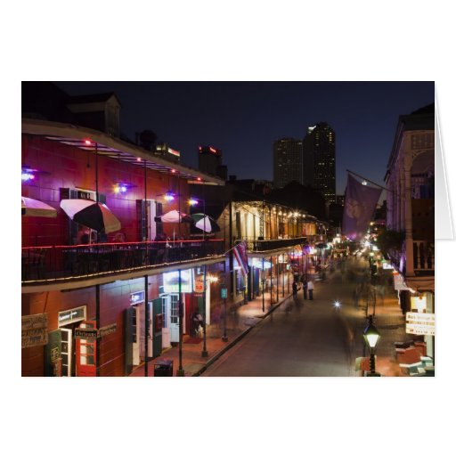 USA, Louisiana, New Orleans. French Quarter, Greeting Card