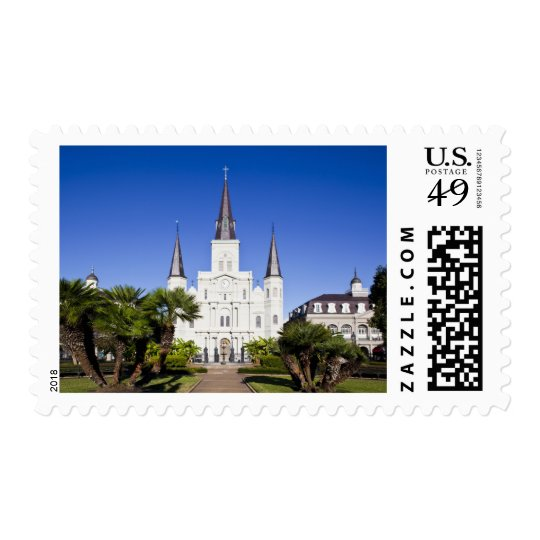 USA, Louisiana, New Orleans. French Quarter, Postage