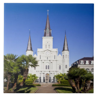 USA, Louisiana, New Orleans. French Quarter, Tile