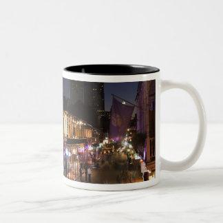 USA, Louisiana, New Orleans. French Quarter, Two-Tone Coffee Mug