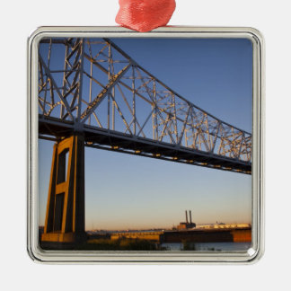 USA, Louisiana, New Orleans. Greater New 2 Metal Ornament