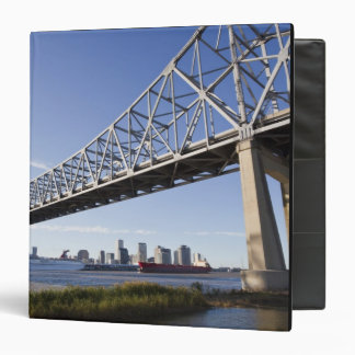 USA, Louisiana, New Orleans. Skyline from the 2 3 Ring Binder