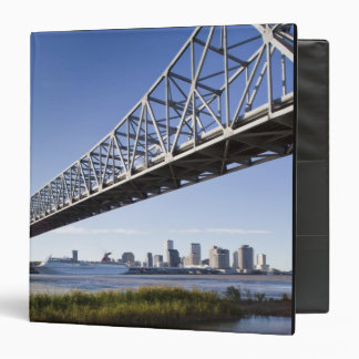 USA, Louisiana, New Orleans. Skyline from the 3 Ring Binder