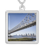 USA, Louisiana, New Orleans. Skyline from the Custom Jewelry