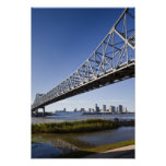 USA, Louisiana, New Orleans. Skyline from the Print