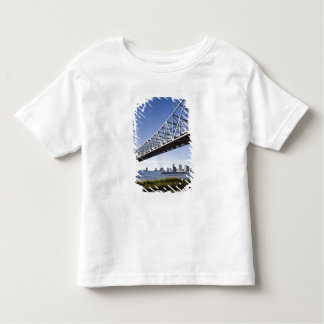 USA, Louisiana, New Orleans. Skyline from the Toddler T-shirt