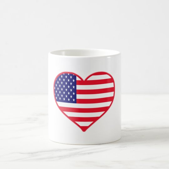 USA Love Coffee Mug