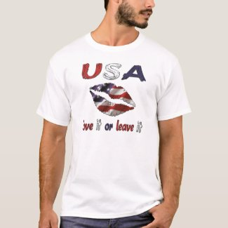 USA love it or leave it T-Shirt