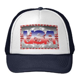 USA Love Patch Trucker Hat