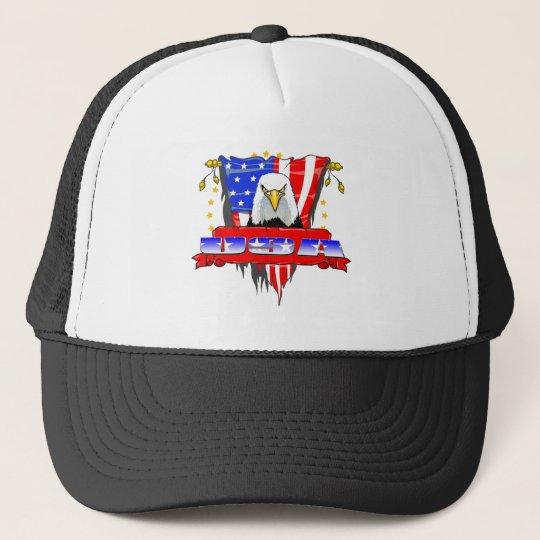 USA Mad Eagle Trucker Hat
