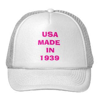 USA MADE IN 1939 CAP TRUCKER HAT