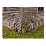 USA, Main. Wagon Wheels Postcards