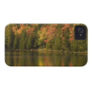 USA; Maine; Acadia NP. Fall reflections at iPhone 4 Case
