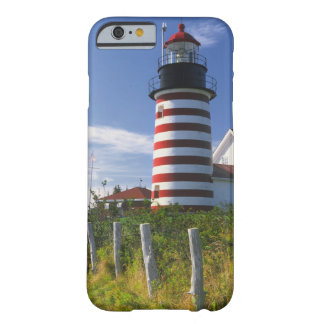 USA, Maine, Lubec. West Quoddy Head Lighthouse Barely There iPhone 6 Case