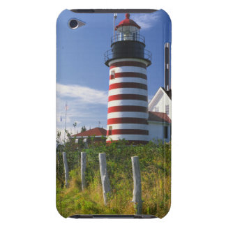 USA, Maine, Lubec. West Quoddy Head Lighthouse Barely There iPod Cover