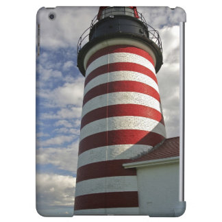 USA, Maine, Lubec. West Quoddy Head LIghthouse iPad Air Cases