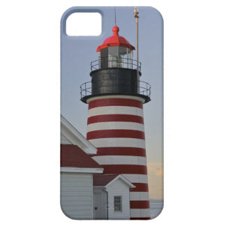 USA, Maine, Lubec. West Quoddy Head Lighthouse, iPhone SE/5/5s Case