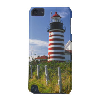 USA, Maine, Lubec. West Quoddy Head Lighthouse iPod Touch 5G Case
