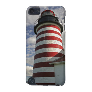 USA, Maine, Lubec. West Quoddy Head LIghthouse iPod Touch (5th Generation) Cover