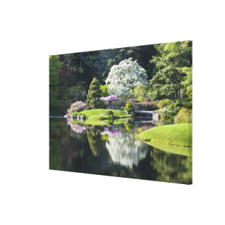 USA, Maine, Northeast Harbor. View of Asticou 2 Gallery Wrapped Canvas