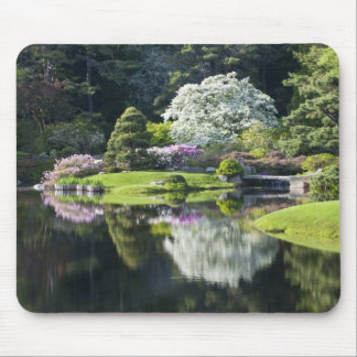 USA, Maine, Northeast Harbor. View of Asticou Mouse Pad