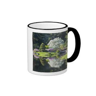 USA, Maine, Northeast Harbor. View of Asticou Coffee Mug